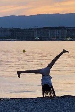 Ludmilla au bord du lac
